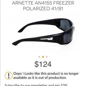d7297a87931e Arnette Accessories - Arnette Italian light grey polarized sunglasses